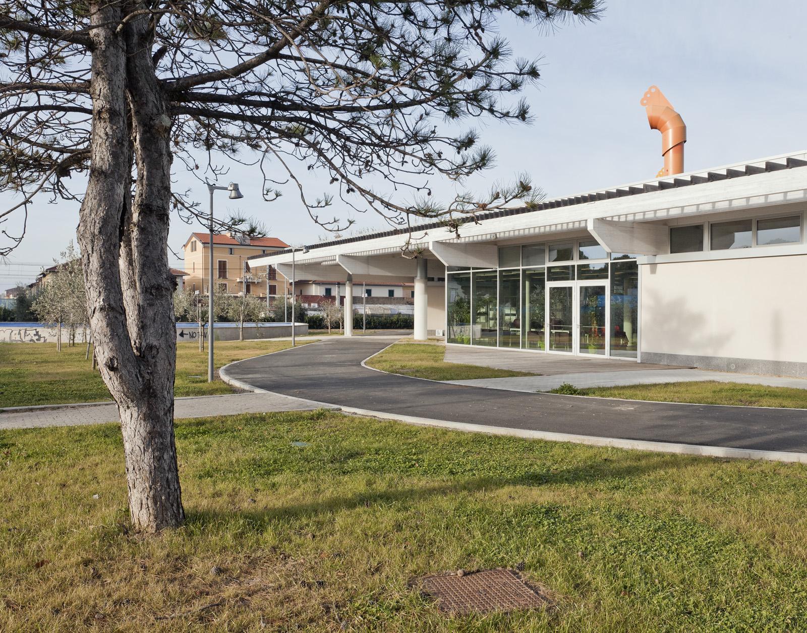 ROS, Nuova biblioteca civica, Rosignano Marittimo (LI)