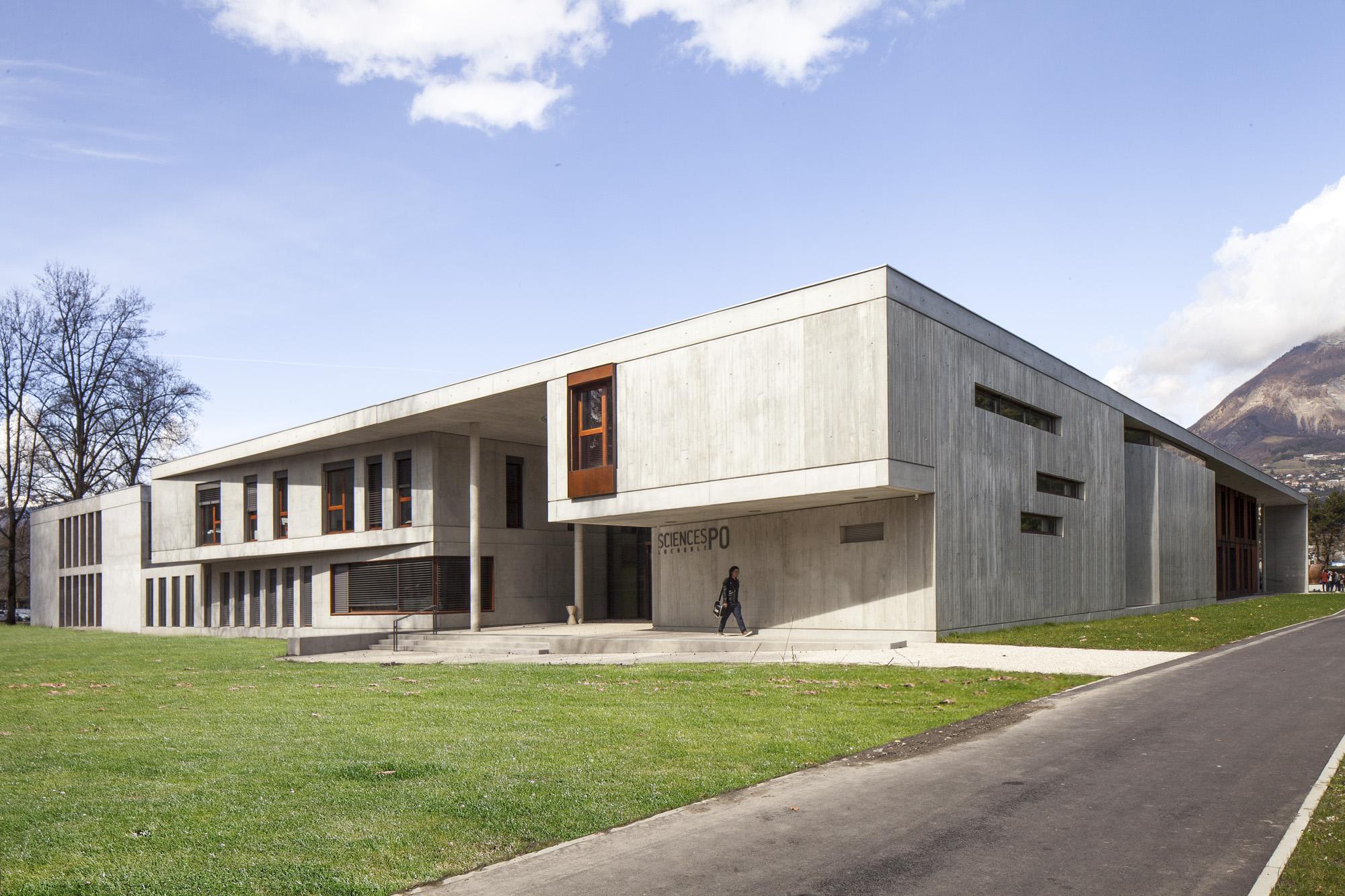 Science Po Grenoble Architecture photography fotografia architettura